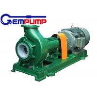 Buy cheap F Type horizontal Chemical Centrifugal Pump  Model 65FN-40A 3.36m³/h ~ 190.8m³/h Flow from Wholesalers