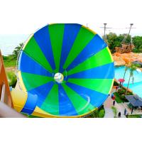Buy cheap Exciting Fiberglass Big Tornado Water Slide 4 Loads For Outdoor Water Park from Wholesalers