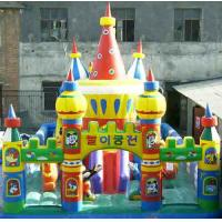 Buy cheap Large 0.55mm PVC Inflatable Sports Games , Giant Amusement Park Funcity For Kids Funny from Wholesalers