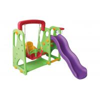 China Customized Color Childrens Swings And Slides Non Toxic For 3 - 12 Years Old on sale