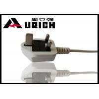 Buy cheap UK BS 1363 Plug 3 Prong TV Power Cord , Three Prong Appliance Cord For Laptop from Wholesalers