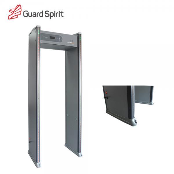 18 Zone Electronic Door Frame Metal Detector / Walk Through Metal ...