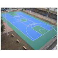 Buy cheap Easy Using Color Customized Tennis Court Surface For Multi-functional Silicone PU Materials from Wholesalers