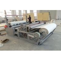 Buy cheap Rewinding Fabric Roll Cutter Slitting Machine Perforating For Nonwoven Fabric SMS SMMS from Wholesalers
