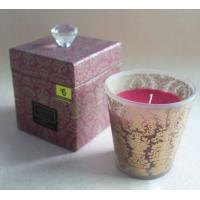 180g Glass Aroma Candle Customerized Design Scented Candles Jars with ISO 9001 TS-CC041