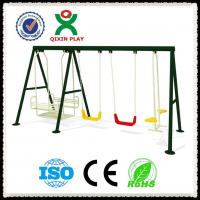 China Children Swing Seat Used Galvanized Steel Swing Seats for Whole Sale  QX-100E on sale