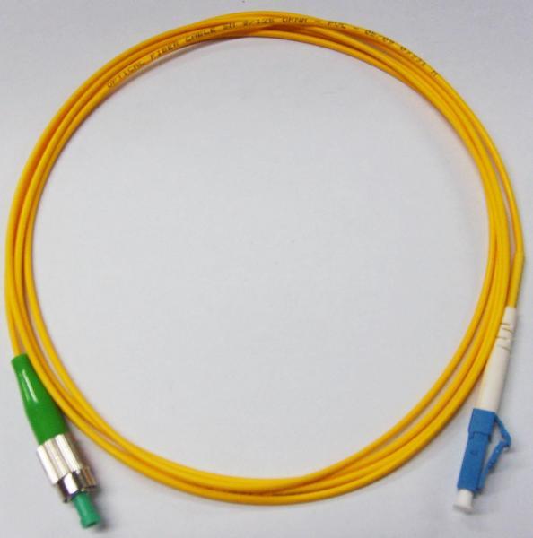 Fc Apc To Lc Upc Fiber Optic Patch Cord Simplex Lszh Cable Jacket Of Kabel Optik Patchcord Buy Cheap