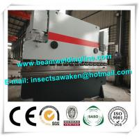 Buy cheap High Strength CNC Hydraulic Press Brake Machine 3 Phase 380V / 50hz from Wholesalers