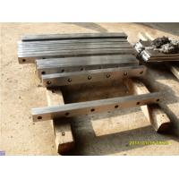 Buy cheap Shearing Blade Press Brake Die For Shearing Machine / 9Crsi 6Crw2si from wholesalers