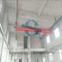 Buy cheap LX Series Single Girder Single Beam Bridge Crane​ China Leading Sinocrane Brand from Wholesalers