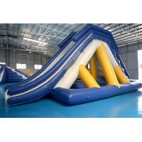 Buy cheap Floating Inflatable Water Slide With Big Stainless Steel Anchor Ring from Wholesalers