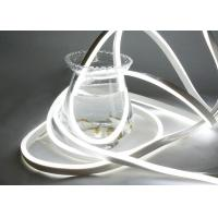 China Water Resistant Neon Led Light Strips , Dimmable Neon Rope Light Flex Tube on sale
