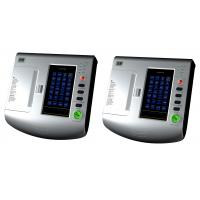 China 7 Inch Touch Screen Six / 6 Channel ECG Machine Floating Input Portable Type on sale