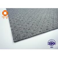 Buy cheap Non Flammable Grey Needle Punched Felt Nonwoven Fabric Carpet Backing OEM from Wholesalers