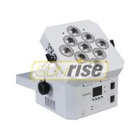 Buy cheap Wireless Dmx Led Par Can Light , 9x18w Battery Operated Dj Lights Improve Product Stability from Wholesalers