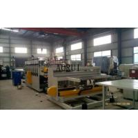 China PVC Skinning Foamed Board Machine Safe Decorative for Bath Cabinet on sale