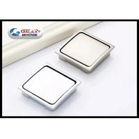 Buy Cheap Zinc Alloy Chrome Hidden Kitchen Door Handles , Square Concealed  Cabinet Pulls From Wholesalers ...