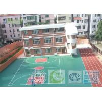 Buy cheap Shock Absorption Rubber Tennis Court Surface With Pu Coating Material from Wholesalers