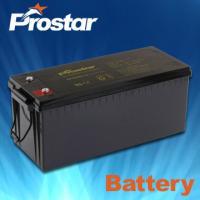 Buy cheap Deep cycle solar batteries 12V 200AH GPD200-12 from Wholesalers