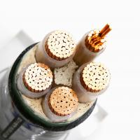 Buy cheap 0.6/1KV Class2 Copper Conductor Cable , 3 Core Power Cable Construction PVC XLPE Insulated from Wholesalers