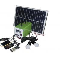 Buy cheap USB Cable Home Solar Power System , Portable Solar Powered Generator For Travel from Wholesalers