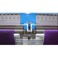 Buy cheap High Capacity Industrial Embroidery Machines 34 Heads 300 G/M2 Quilting Thickness from Wholesalers