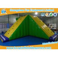 China Amusement Floating Inflatable Water Park Game Inflatable Water Slide Equipments on sale