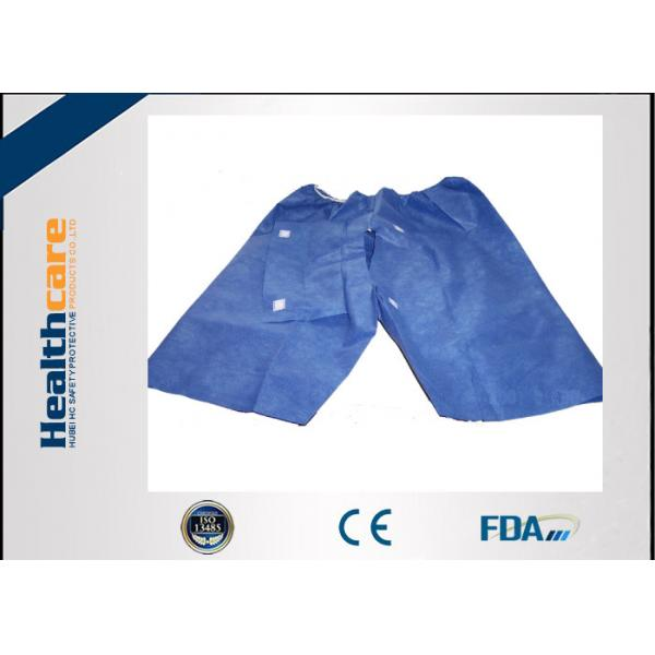 Soft Nonwoven Colonoscopy Disposable Patient Exam Gowns With Hook ...