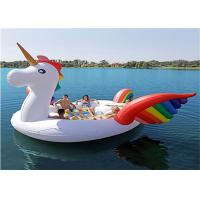 Buy cheap Giant Unicorn Blow Up Pool Toy , 20kg Funny Pool Floats for 6-8 Person from Wholesalers