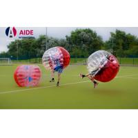 Buy cheap Red Free Shipping Inflatable Sports Equipment Water Roller Ball 100% Tpu from wholesalers