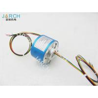 Buy cheap 12.7mm Stable Performance Through Bore Slip Ring , 500RPM 12A Rotary Connector from Wholesalers