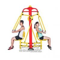 Buy cheap China TUV certificate with EN 16630 standard good quality Outdoor Fitness Equipment push trainer from Wholesalers