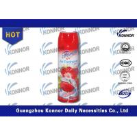 Buy cheap Strawberry / Lemon Aerosol Air Freshener Room Spray Home Deodorizer from Wholesalers