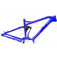 AM / Enduro Electric Full Suspension Bike Frame 200 X 57 Mm Shock Size