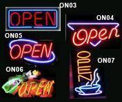 China Open Neon Sign(ATM,Pizza,Beer,Customzation Sign) on sale