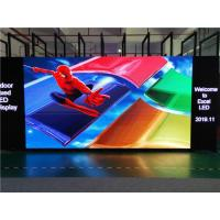 Buy cheap 4mm Indoor Fixed LED Display / Stage Background LED Display Big Screen from Wholesalers