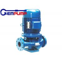 Buy cheap IHG vertical pipe Inline Water Booster Pump , stainless steel centrifugal water pump from Wholesalers