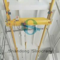 Buy cheap LX Overhead Crane with Design Drawing Hanging Overhead Crane for Your Need from Wholesalers