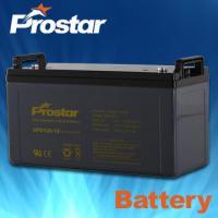 Buy cheap Deep cycle solar batteries 12V 120AH GPD120-12 from Wholesalers
