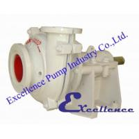 Good performance centrifugal slurry pumps EHM with wear-resistant metal liners