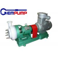 Buy cheap Rolling bearings Chemical resistant pump  single-stage single-suction corrosion pump from Wholesalers