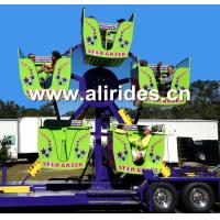 Buy cheap Mini Ferris Wheel Carnival Rides Trailer Mounted Rides For Sale from Wholesalers