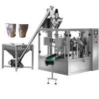 Automatic powder dispensing machine milk pouch packing machine,Paper bag Powder for sale