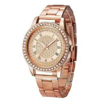 Buy cheap WHOLESALE ALLOY STRAP ALLOY ROUND CASE LADIES QUARTZ WATCHES WITH A LOTS DIAMOND from Wholesalers