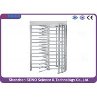Buy cheap 2.0mm thickness AccessTurnstile RFID Card Reader Full Height Turnstile from wholesalers