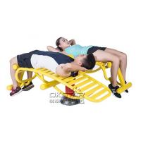 Buy cheap high quality Outdoor Fitness Equipment with TUV certificate EN 16630 sit up exercise equipment from Wholesalers