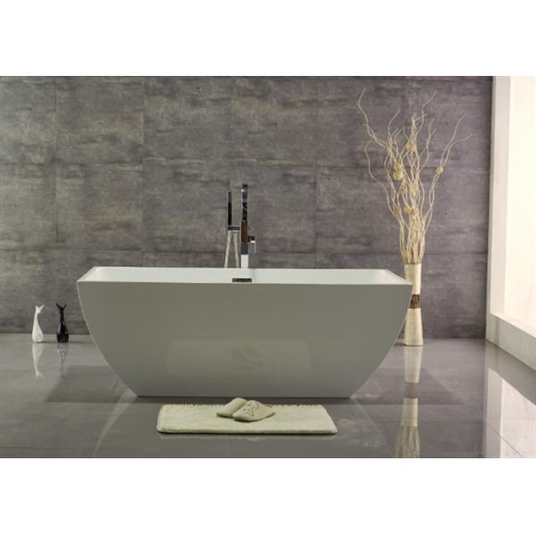 Comfortable Egg Shaped Free Standing Soaker Tubs Less Than 60 Inches ...