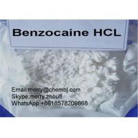 Buy cheap Benzocaine HCL Local Anethtic Raw Powder Benzocaine Hydrochloride For Pain Killer 23239-88-5 from Wholesalers