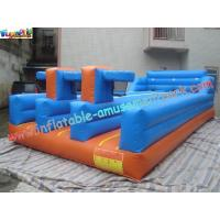 Buy cheap PVC Inflatable Bungee Run Triple Lane,Three LaneInflatable Sports Games Bungee from Wholesalers