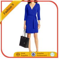 Buy cheap Women Cobalt Wrap Dress from Wholesalers